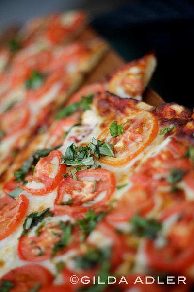 pizza and flat bread