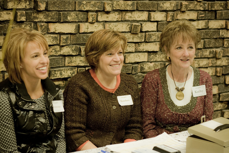 Jeanne, Kandace, and Kathy