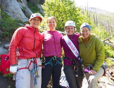 Lisa Bachelorette Climb