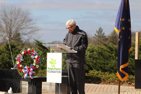 Valpo Parks Veterans Day Celebration 2020