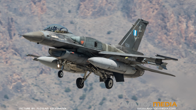 Hellenic Air Force 337 Mira / Lockheed Martin F-16C-52 Fighting Falcon / 508