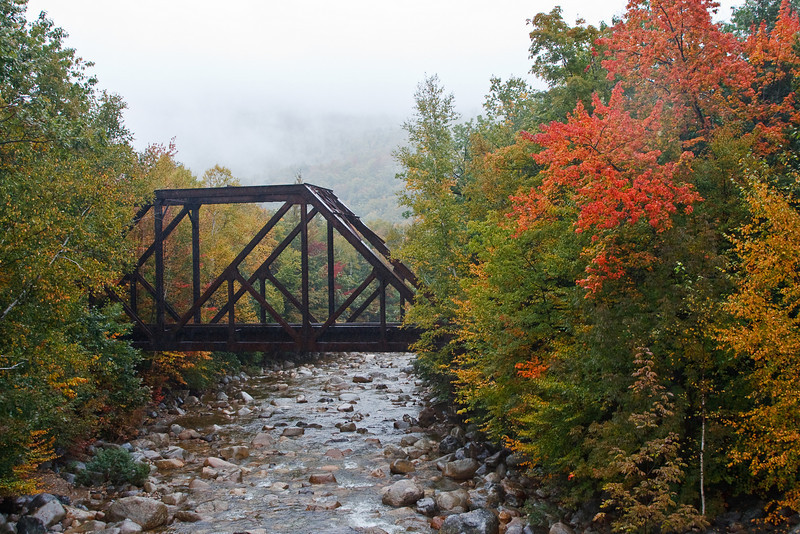 Crawford Notch State Park on a rainy September day (photo by Kerry Brooks)