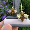 Vintage Bee Conversion Earrings 4