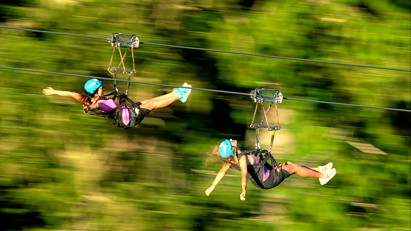 Superfly Ziplines Action Photos Summer 2016