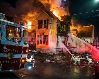 Lowell, MA 3rd Alarm - 24 Arthur St - 11/22/18