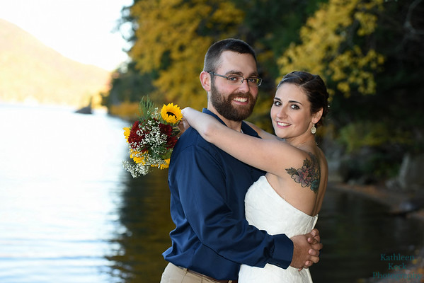 Emily and Tim - Blue Mtn Lake
