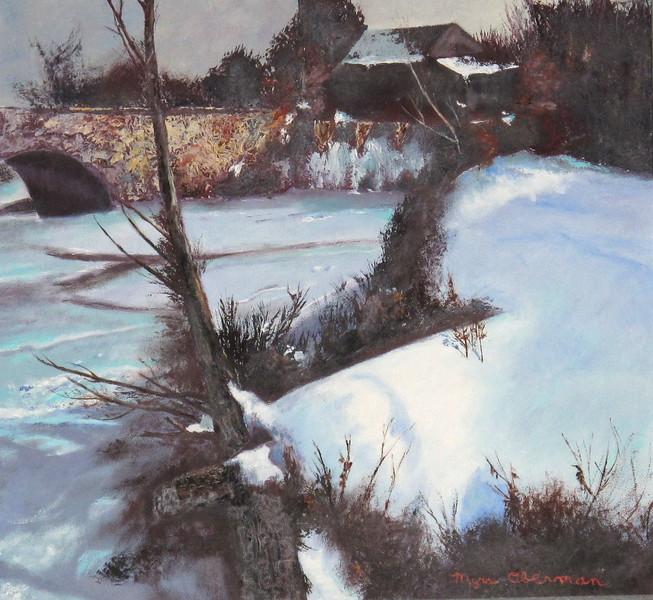 Snow Scene in Oil.JPG