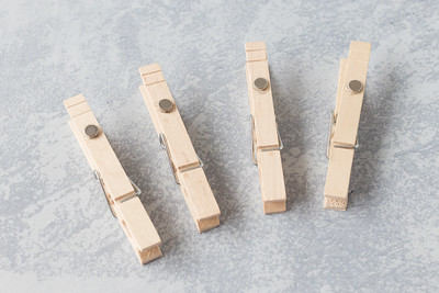 DIY Sheet Music Clothespins