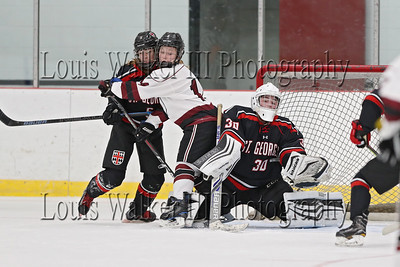 Hockey Girls Abbey at St George's on 12/16/19