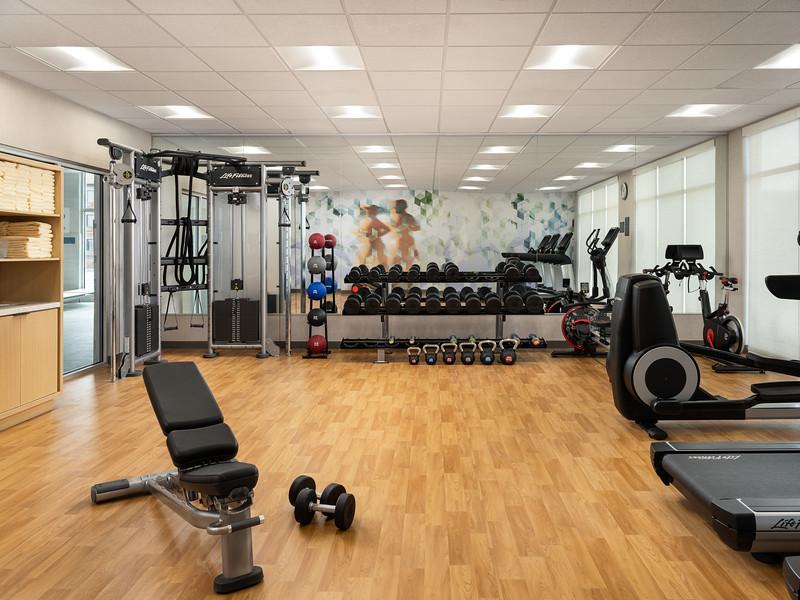 Amarillo Hyatt Place fitness centerA.JPG