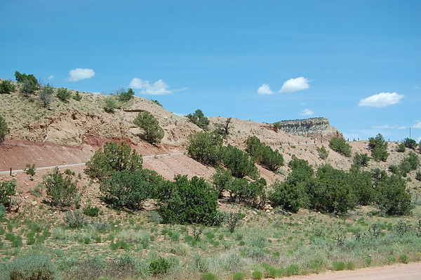 Journal Site 68: Ghost Ranch, Rio Chama Wilderness - Abiquiu, NM - June 14, 2007