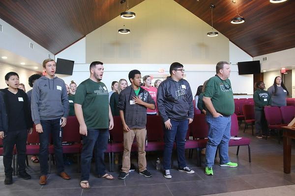 Alumni Choir Rehearsal 2018