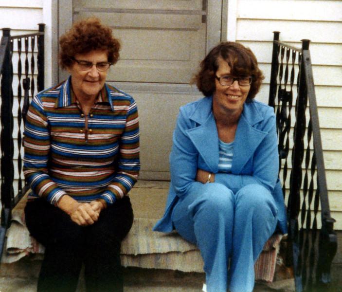 Great Grandma Anita Herdrich & Grandma Joyce Phillips