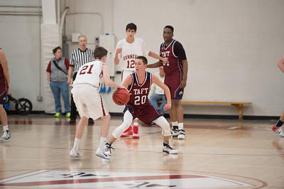 1/4/17: Boys' Varsity Basketball v Gunnery