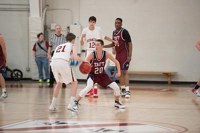 1/4/17: Boys' Varsity Basketball v Gunnery