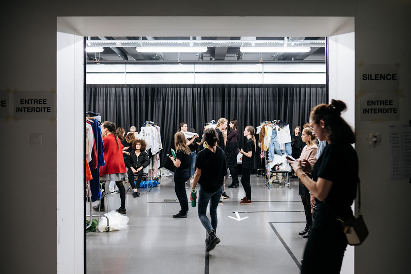 Backstage défilé HEAD Geneva 2017