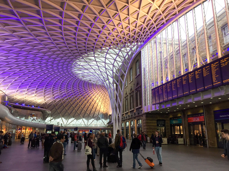 Kings Cross Station in London