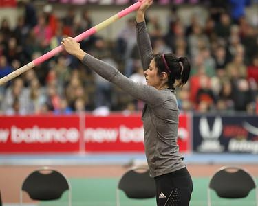 Womens Pole Vault -- Jenn Suhr