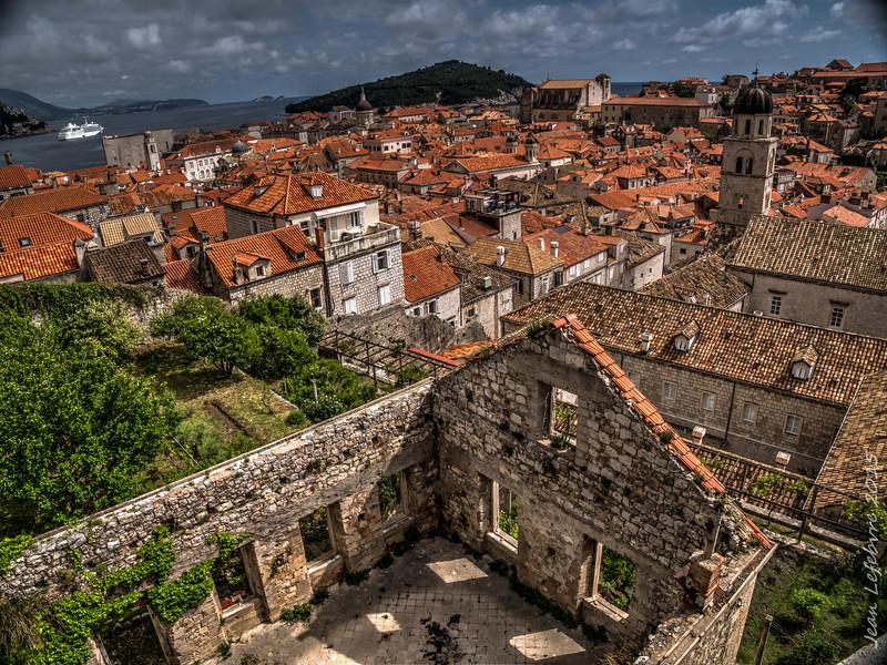 Dubrovnik, mostly rebuilt!