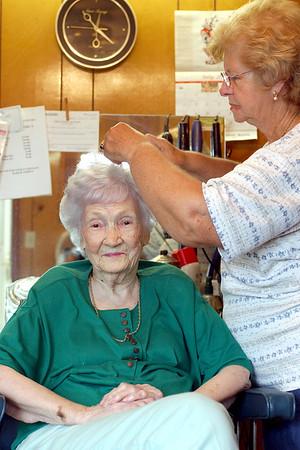 Aunt Elma Hardage & Grace Martin