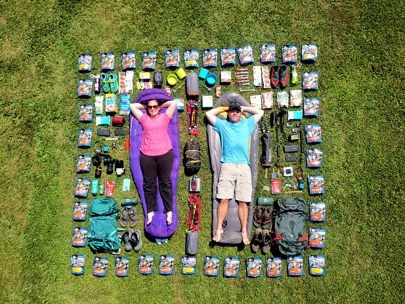 Hiking Packing List - Divergent Travelers