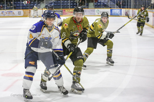 January 8th, Miners Vs Powassan Voodoos.