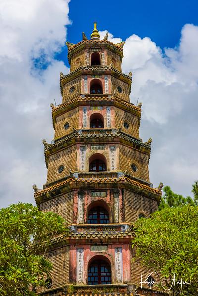Hue's Thien Mu Pagoda.