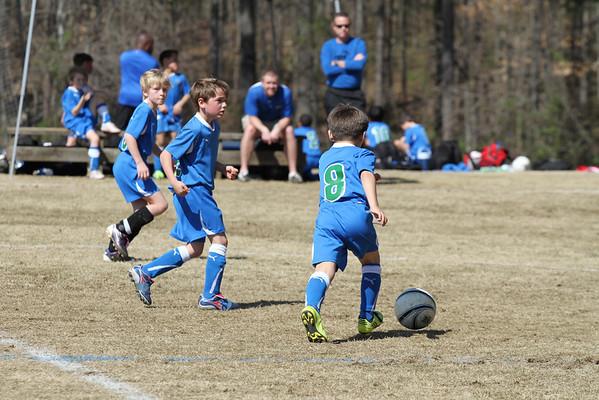 U9 Boys vs NASA 3-12-2011