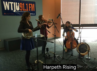 2016 04-07 Harpeth Rising at WTJU