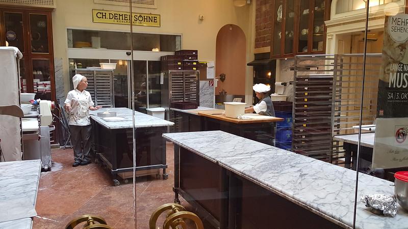 Demel is Vienna's oldest bakery