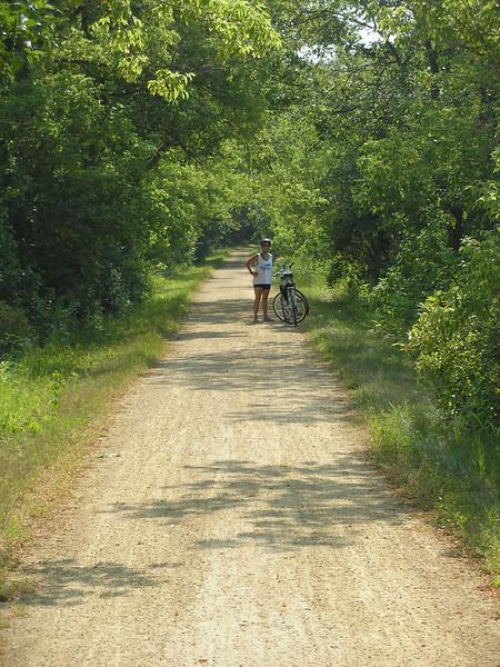 Vadis on the Elroy-Sparta Trail