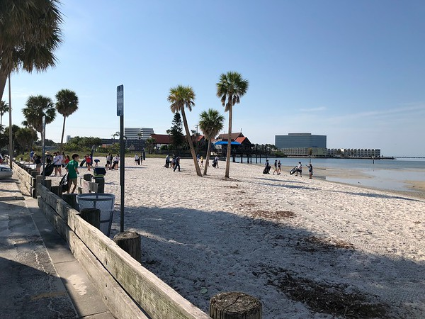 NJHS Beach Clean Up 2018