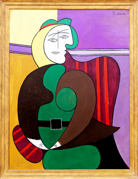 "Picasso's 1931, ""The Red Armchair"""