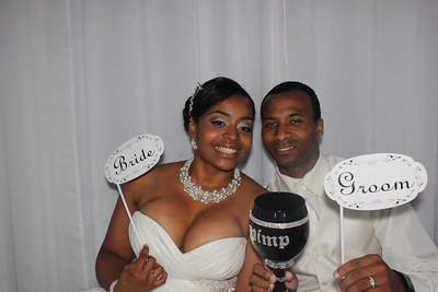 Nakia and George Wedding Photo Booth