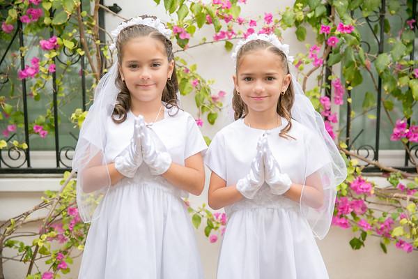 Andrea & Adriana 1st Communion