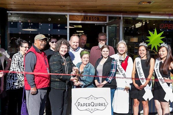 Paper Quirks Ribbon Cutting