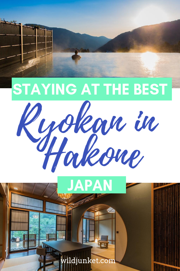 Staying at The Best Ryokan in Hakone, Japan