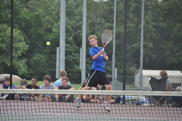Western Albemarle boys tennis Group AA quarters 2012