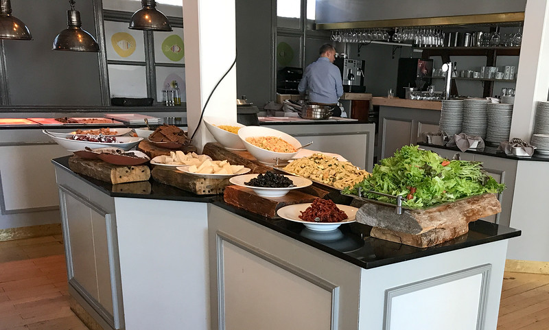 Seafood buffet at Restaurant Reykjavik