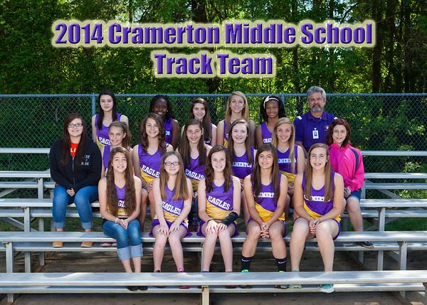 2014 Cramerton Track Team