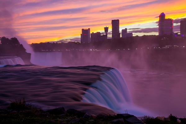 Waterfalls around USA and Canada