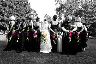 Norton and Azar Wedding Day