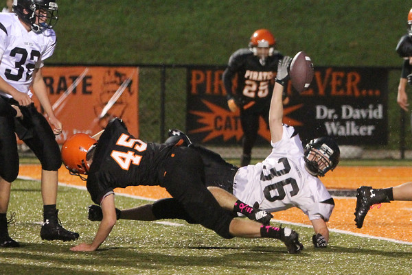Wheelersburg 8th grade vs. Oak Hill 2013