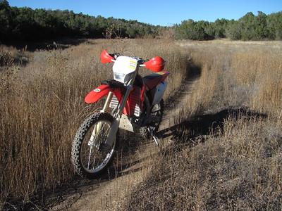 Cedro Peak area ST Ride  11-2-15