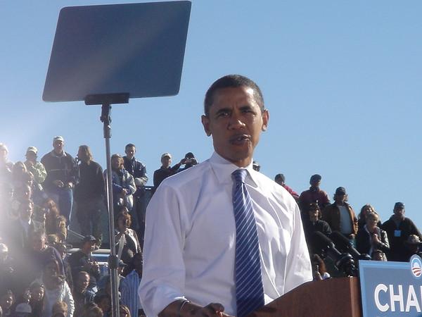 Obama Rally Reno '08