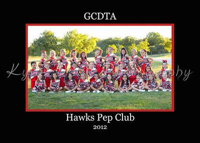Hawks Pep Club 2012