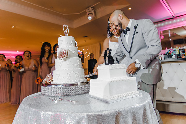 Cherelle + Khalvin Reception