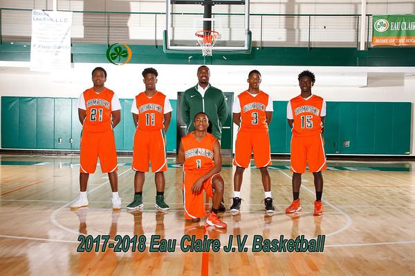 2017-2018 Boys JV Basketball