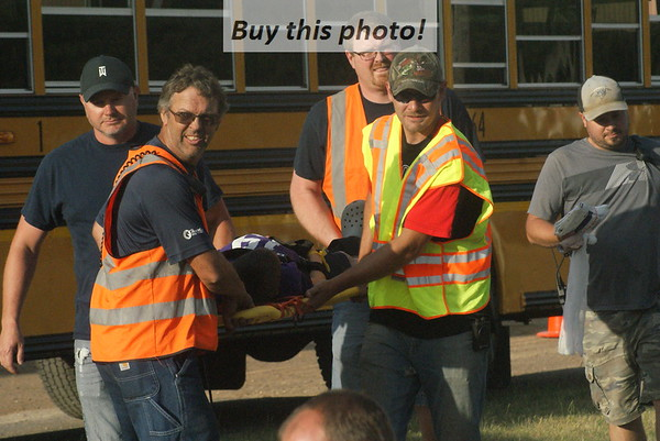 First Responder Mock Bus accident 06-15