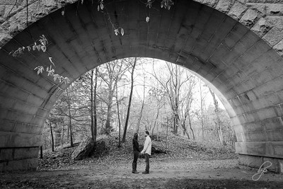 Hemlock Gorge Reservation Engagement: Abby & Ben